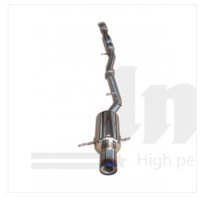 Impreza WRX GD-A 2001-2007 Cat-back exhaust G200-Ti