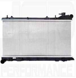 OE replacement radiator Subaru Impreza GD-A/B/C/D 04/-