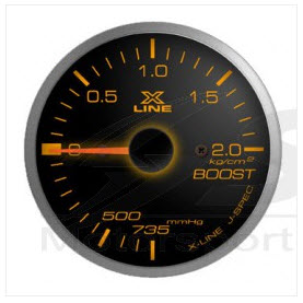 X-Line Black Dial Boost 52mm