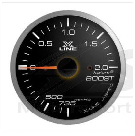 X-Line Smoke White LED Boost 52mm