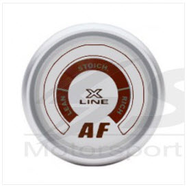 X-Line White Dial Air/Fuel (narrow band ) 52mm