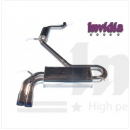 Cat-back exhaust Q300tl Scirocco 2.0 Tsi