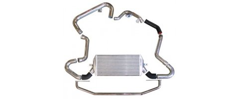 Front mount intercooler with piping Subaru - Impreza WRX/STi 06/+