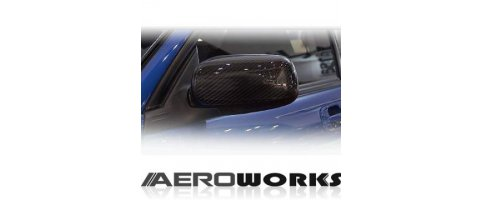Mirror Carbon cover set Subaru - Impreza WRX GD-A/B 01/-
